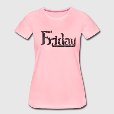 friday_black - Women's Premium T-Shirt