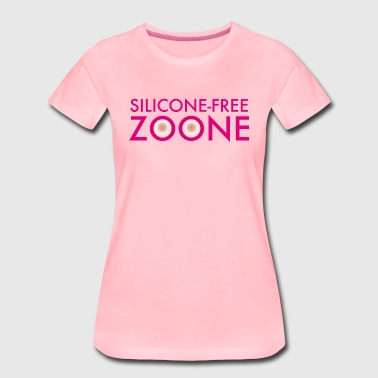 Silicone-Free Zoone No silicone Breasts | operating room - Women's Premium T-Shirt
