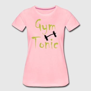 Gym Tonic - Dame premium T-shirt