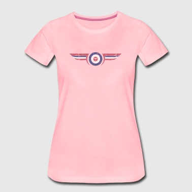 airforce - Distressed - Women's Premium T-Shirt