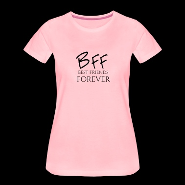 BFF Best Friends forever - Vrouwen Premium T-shirt