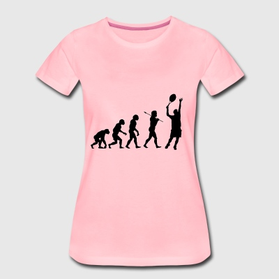 Tennis evolution - Women's Premium T-Shirt
