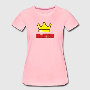 CROWN FAMILIY - QUEEN - Frauen Premium T-Shirt