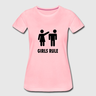 Girls Rule - Women's Premium T-Shirt