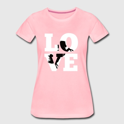 Horses T Shirt Ladies Horse Owner Gift Love - Women's Premium T-Shirt