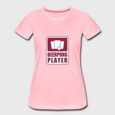 Beerpong Player - Premium T-skjorte for kvinner
