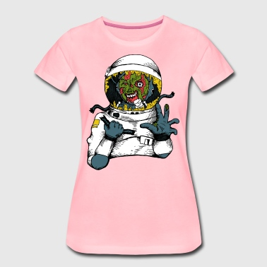 Space virus - Premium-T-shirt dam