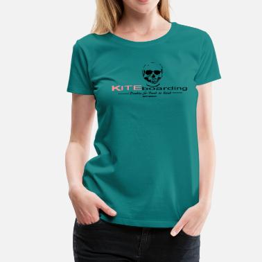 Kiteboard Double S Collect Kiteboarding - Women's Premium T-Shirt