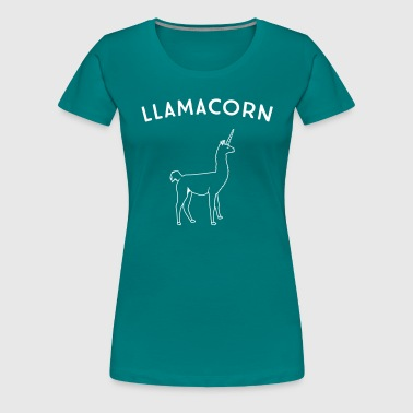 Llamacorn - Women's Premium T-Shirt