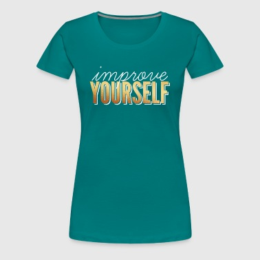 Review / Improve Yourself - Women's Premium T-Shirt