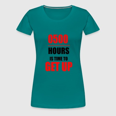 Early Risers Early riser - Women's Premium T-Shirt