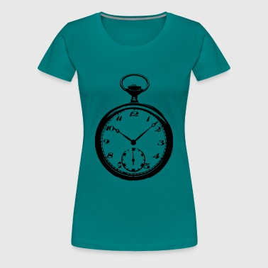 Pocket Watch Pocket watch Pocketwatch - Women's Premium T-Shirt