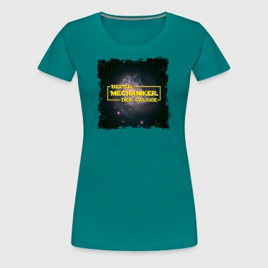 Stern Mechaniker Space > Bester Mechaniker der Galaxie - Frauen Premium T-Shirt