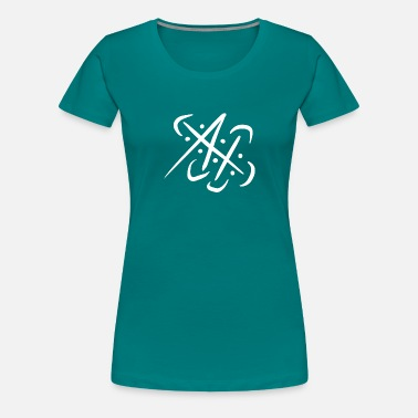 Swinging Symbol Dynamic swing - Women's Premium T-Shirt
