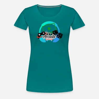 Arcade Game Arcade Gaming - Women's Premium T-Shirt