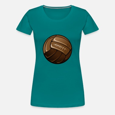 Oude Voetbal oude voetbal - Vrouwen Premium T-shirt