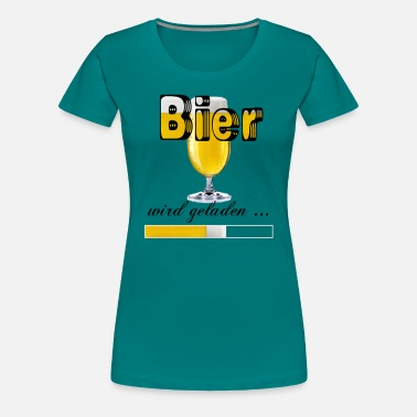 Loading Beer Beer is loading - Women's Premium T-Shirt