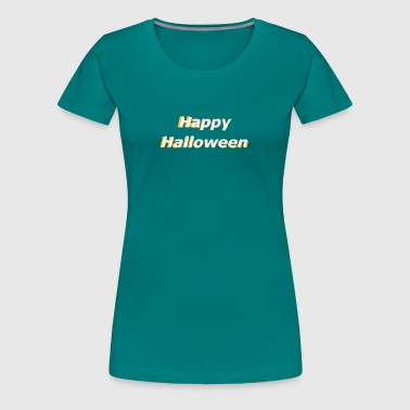 3d Horror Happy Halloween 3D effect - Women's Premium T-Shirt