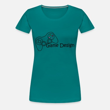 Game Designer Game Design - Women's Premium T-Shirt