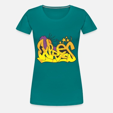 Expressive express graffiti - Women's Premium T-Shirt