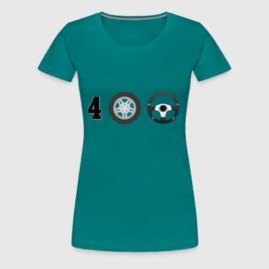 Drive 4 wheel drive - Women's Premium T-Shirt
