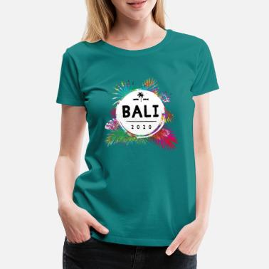 bali 2020 colorful - Women's Premium T-Shirt