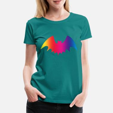 Batting Bat Bat Wing Bats - Women's Premium T-Shirt