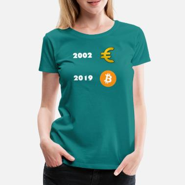 Euro Euro vs. Bitcoin - Women's Premium T-Shirt
