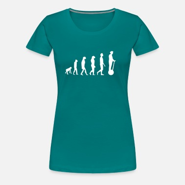 Segway Evolution Segway - Frauen Premium T-Shirt
