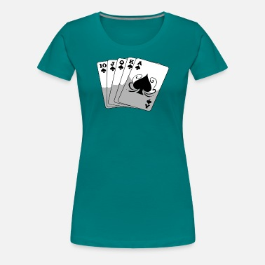 Royal Flush Royal Flush - Frauen Premium T-Shirt