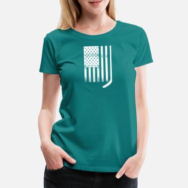 Shirts T LigneSpreadshirt Commander Américain Hockey En À SVqMGUzp