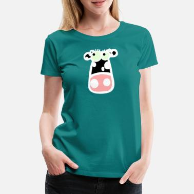 Sweet Cow Sweet cow / cow white - Women's Premium T-Shirt