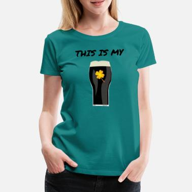 Pint this is my pint - Women's Premium T-Shirt