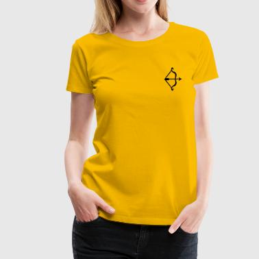 bow and arrow - Vrouwen Premium T-shirt