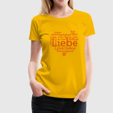 Love international - Frauen Premium T-Shirt