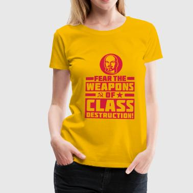 Class Destruction - T-shirt Premium Femme