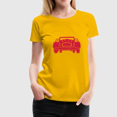 2CV Front - 1 Color - Women's Premium T-Shirt