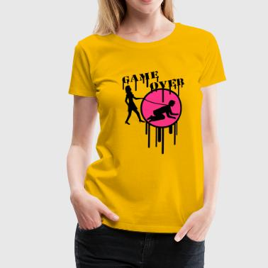 game_over_graffiti_stamp - T-shirt Premium Femme
