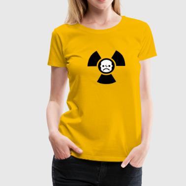 Atomstrom nein danke | against nuclear electricity | smiley - Women's Premium T-Shirt