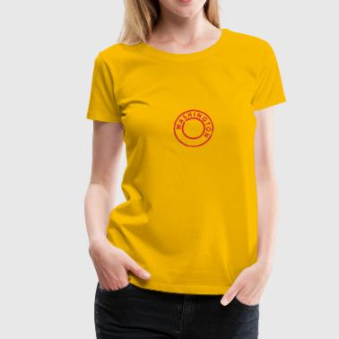 Washington - Frauen Premium T-Shirt
