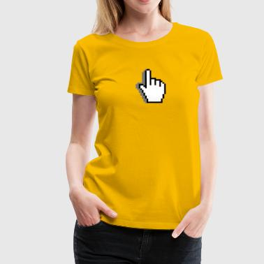 Cursor: pointer; (full) - Women's Premium T-Shirt