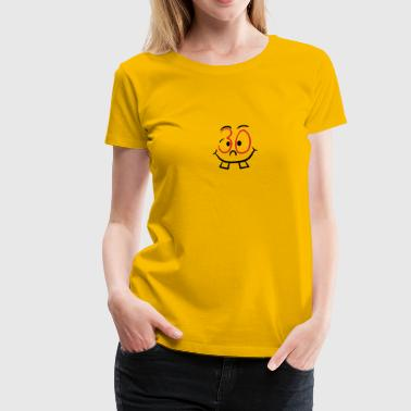 30 face smiley funny comic - Women's Premium T-Shirt
