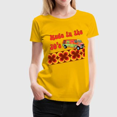 made in the 70s - Frauen Premium T-Shirt