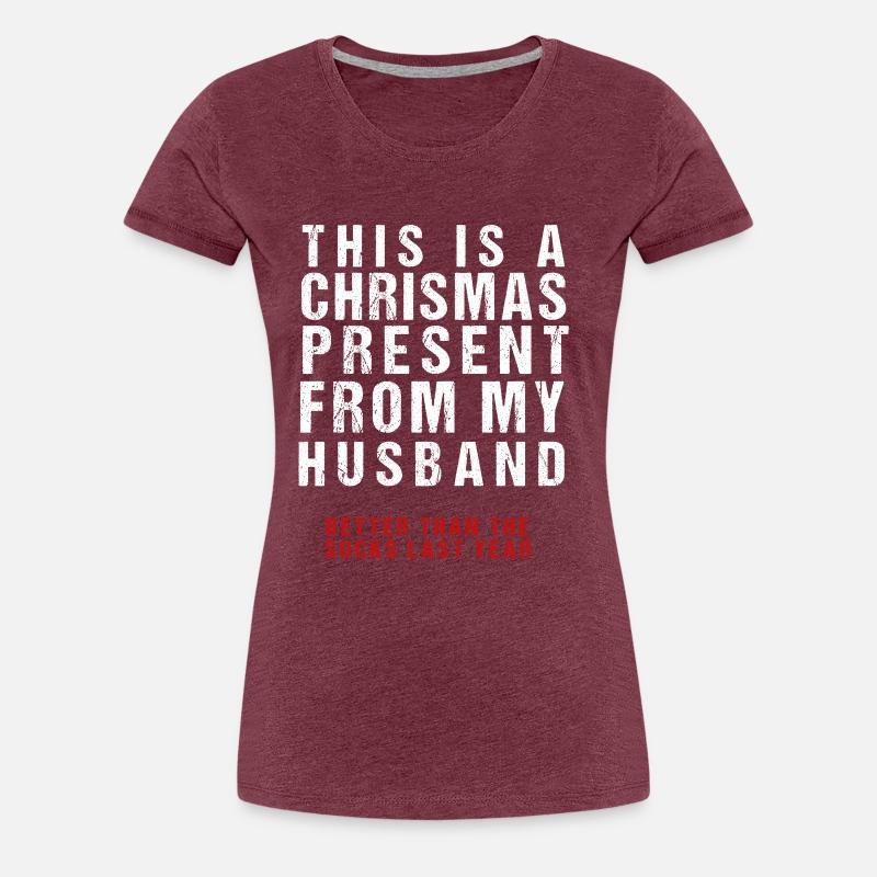 Lustiges Weihnachtsgeschenk vom Ehemann von Herzog Shirts | Spreadshirt