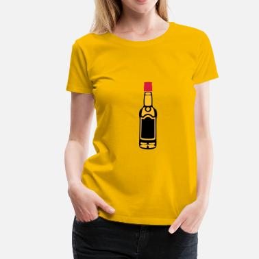 Alcool Whisky bouteille whisky alcool 3 - T-shirt Premium Femme