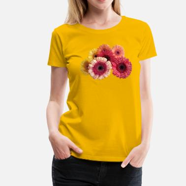 Tropic flowers - Women's Premium T-Shirt