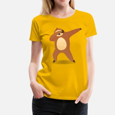Sloths Dabbing Sloth - Women's Premium T-Shirt