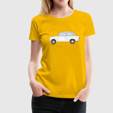 Trabbi Ostalgie Design - Women's Premium T-Shirt