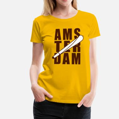 Xxx Red Amsterdam Holland Joint 2farbig - Women's Premium T-Shirt