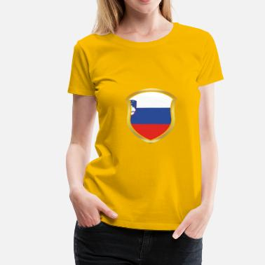 World Champion World Champion Champion 2018 wm team Slovenia png - Women's Premium T-Shirt